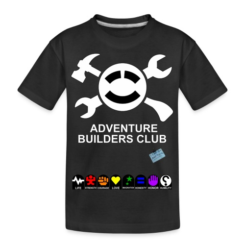 Adventure Builders Club - Kid's Premium Organic T-Shirt