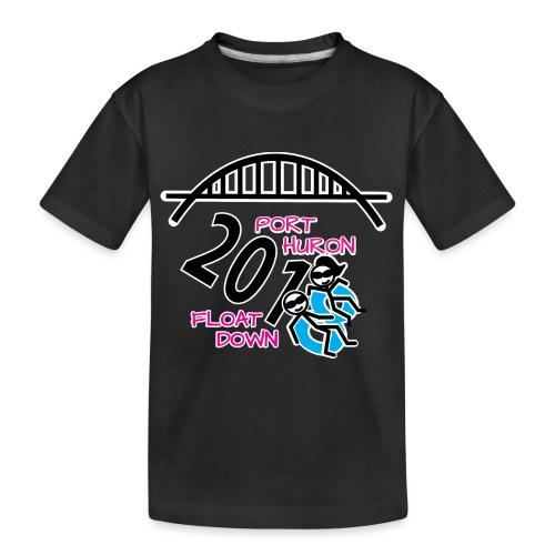 Port Huron Float Down 2018 Shirt - Color - Kid's Premium Organic T-Shirt