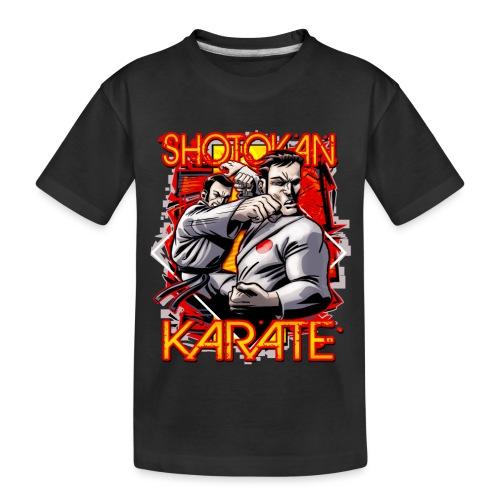 Shotokan Karate - Kid's Premium Organic T-Shirt
