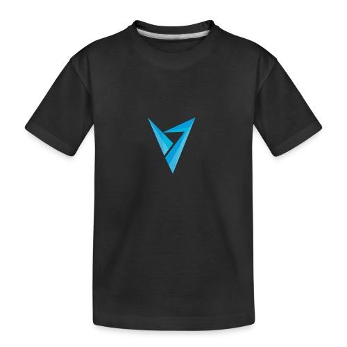 v logo - Kid's Premium Organic T-Shirt