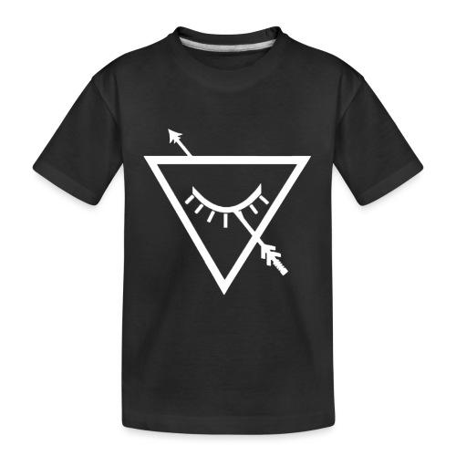 Urban Roots Symbol White - Kid's Premium Organic T-Shirt
