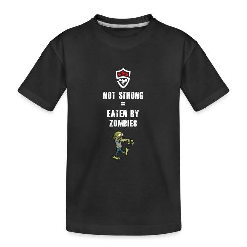 Eaten By Zombies - Kid's Premium Organic T-Shirt