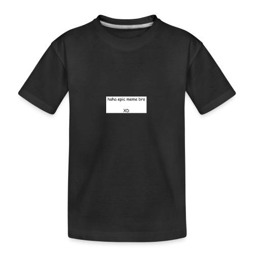 epic meme bro - Kid's Premium Organic T-Shirt