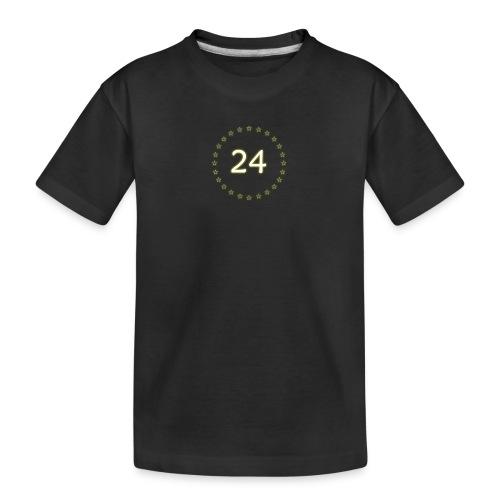 24 stars - Kid's Premium Organic T-Shirt