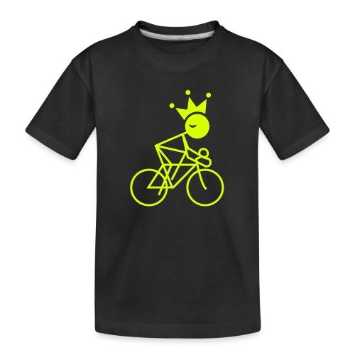 Winky Cycling King - Kid's Premium Organic T-Shirt