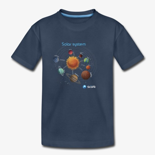 Solar System Scope : Solar System - Kid's Premium Organic T-Shirt