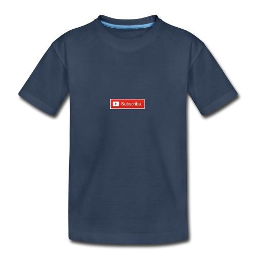 YOUTUBE SUBSCRIBE - Kid's Premium Organic T-Shirt