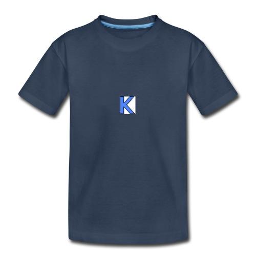 Kickstarkid K - Kid's Premium Organic T-Shirt