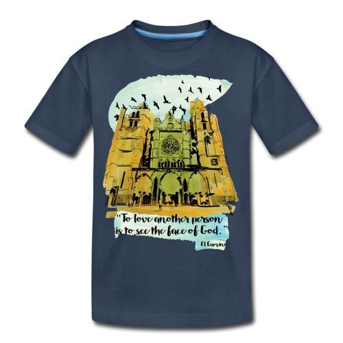 El camino - Kid's Premium Organic T-Shirt