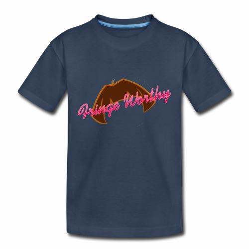 Fringe Worthy - Kid's Premium Organic T-Shirt