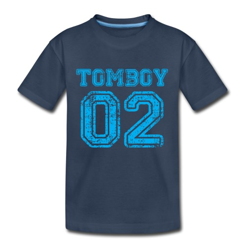 Tomboy02 png - Kid's Premium Organic T-Shirt