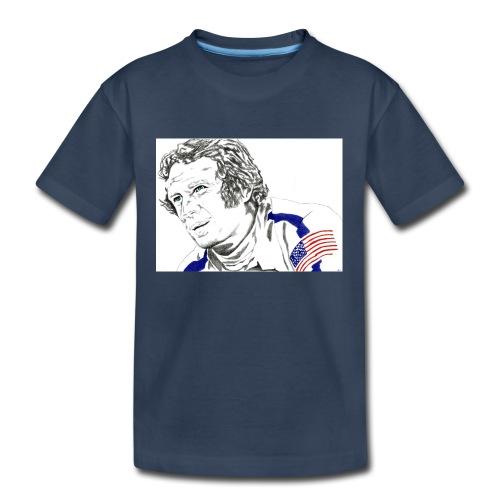 McQUEEN - Kid's Premium Organic T-Shirt