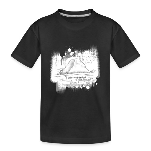 Listen to Hardrock - Kid's Premium Organic T-Shirt