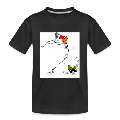 Lady Climber - Kid's Premium Organic T-Shirt
