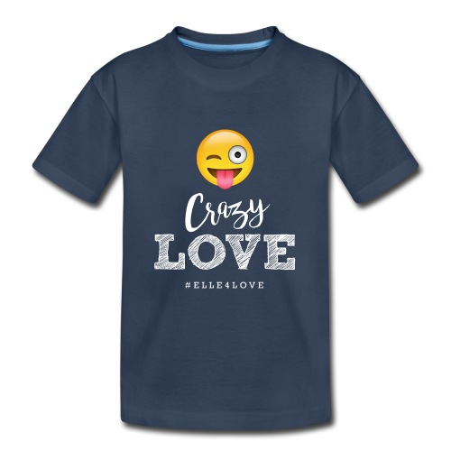 Crazy Love - Kid's Premium Organic T-Shirt