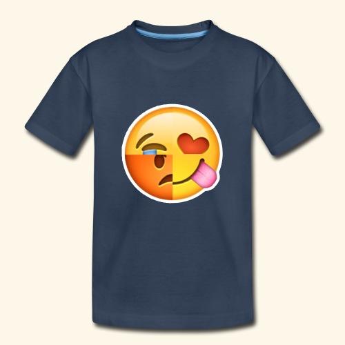 E Tees , Unique , Love , Cry, angry - Kid's Premium Organic T-Shirt