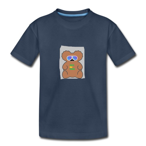 Aussie Dad Gaming Koala - Kid's Premium Organic T-Shirt