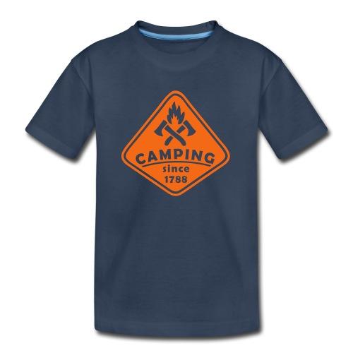 Campfire - Kid's Premium Organic T-Shirt