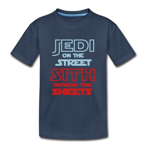 Jedi Sith Awesome Shirt - Kid's Premium Organic T-Shirt