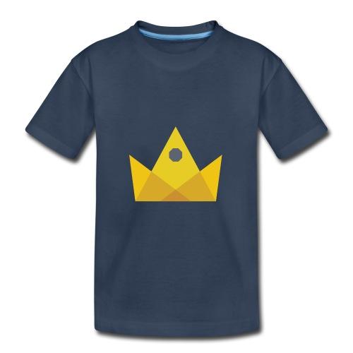 I am the KING - Kid's Premium Organic T-Shirt