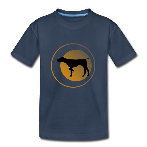 German Shorthaired Pointer - Kid's Premium Organic T-Shirt