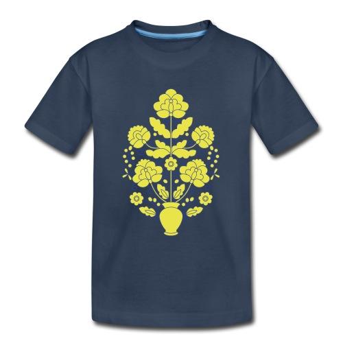 Tree of Life on White - Kid's Premium Organic T-Shirt