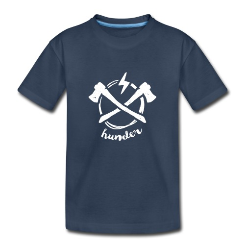 woodchipper back - Kid's Premium Organic T-Shirt