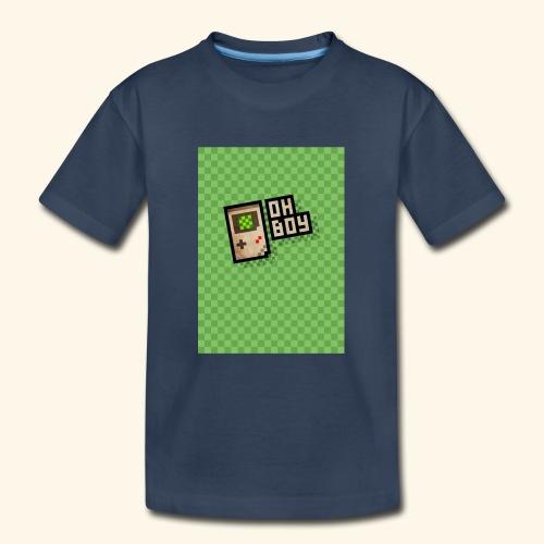 oh boy handy - Kid's Premium Organic T-Shirt