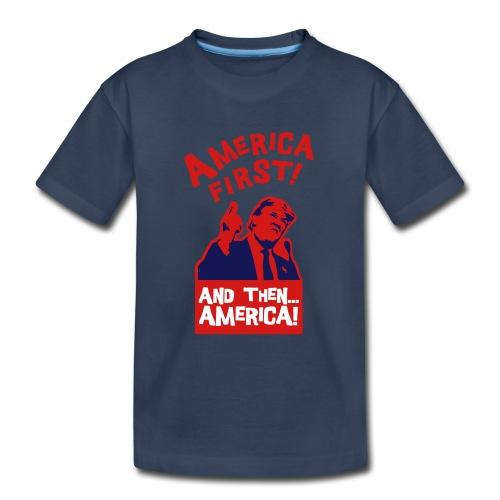 AMERICA FIRST - Kid's Premium Organic T-Shirt