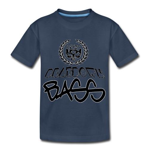 BEATDOWN BLACK LOGO - Kid's Premium Organic T-Shirt