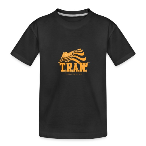 TRAN Gold Club - Kid's Premium Organic T-Shirt