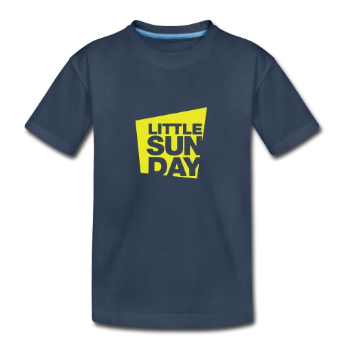 littleSUNDAY Official Logo - Kid's Premium Organic T-Shirt