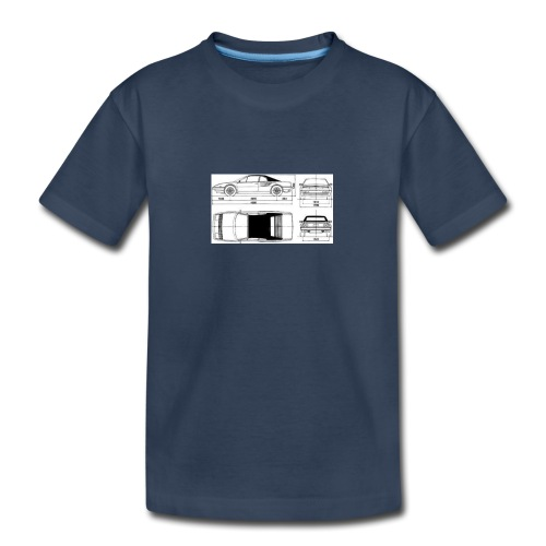 artists rendering - Kid's Premium Organic T-Shirt