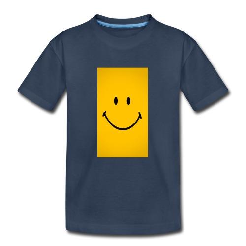 Smiley face - Kid's Premium Organic T-Shirt