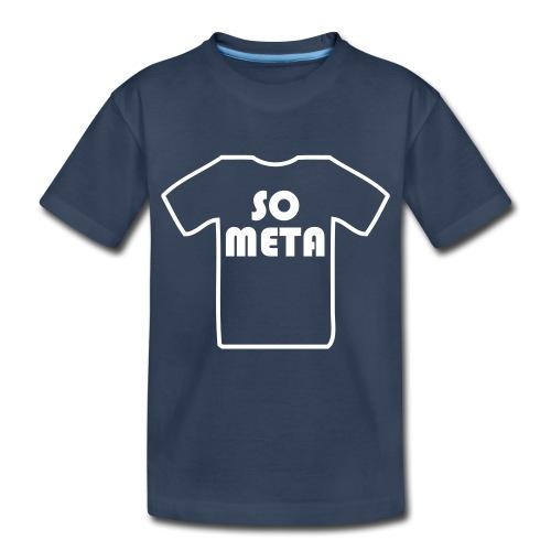 Meta Shirt on a Shirt - Kid's Premium Organic T-Shirt