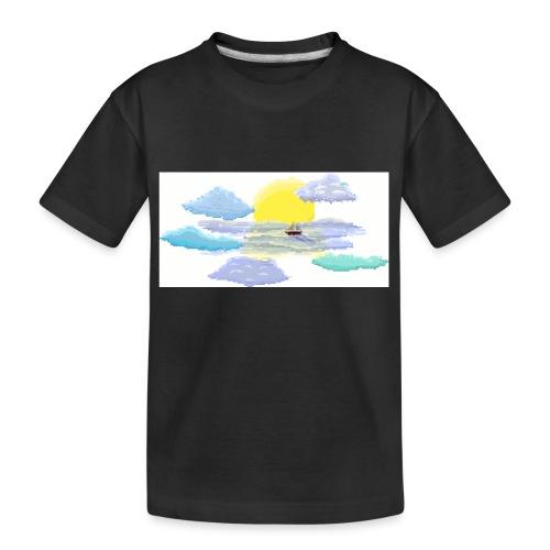 Sea of Clouds - Kid's Premium Organic T-Shirt