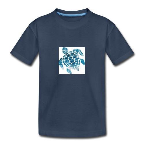 turtle - Kid's Premium Organic T-Shirt