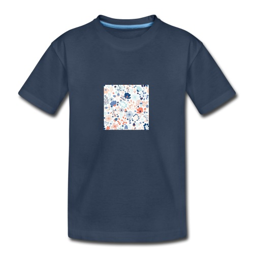 flowers - Kid's Premium Organic T-Shirt