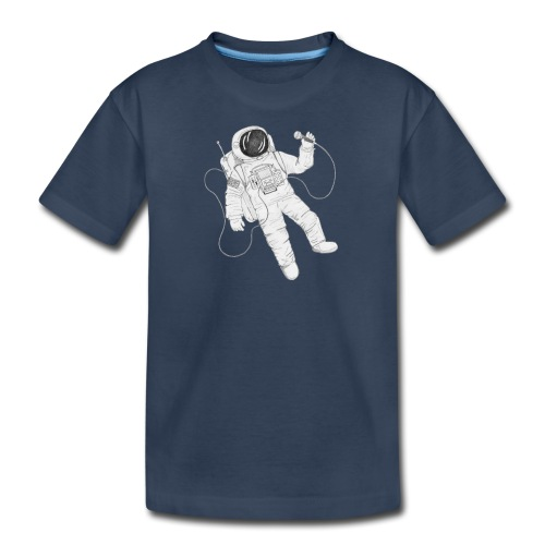 Remo Conscious-Souls In A Cipher Astronaut - Kid's Premium Organic T-Shirt
