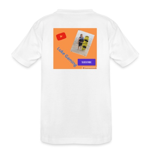 Luke Gaming T-Shirt - Kid's Premium Organic T-Shirt