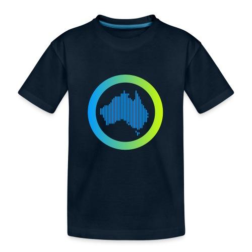 Gradient Symbol Only - Kid's Premium Organic T-Shirt