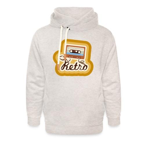 Retro-Cassette - Unisex Shawl Collar Hoodie
