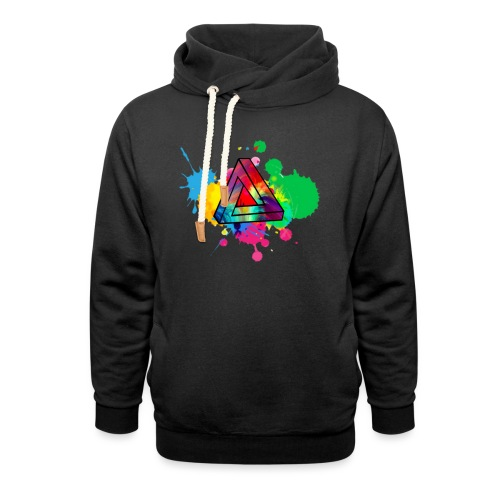 PAINT SPLASH - Unisex Shawl Collar Hoodie