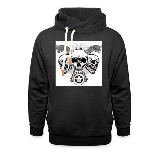 Skulls - Shawl Collar Hoodie