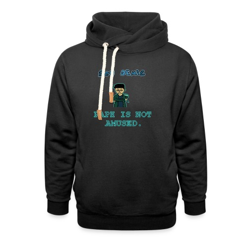 Raph Is Not Amused T-Shirt - Shawl Collar Hoodie