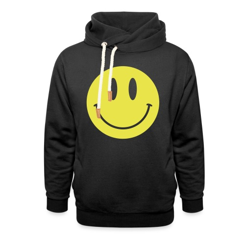 Smiley - Shawl Collar Hoodie