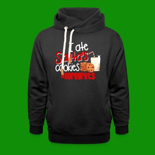 #NoRegrets Santa's Cookies - Unisex Shawl Collar Hoodie