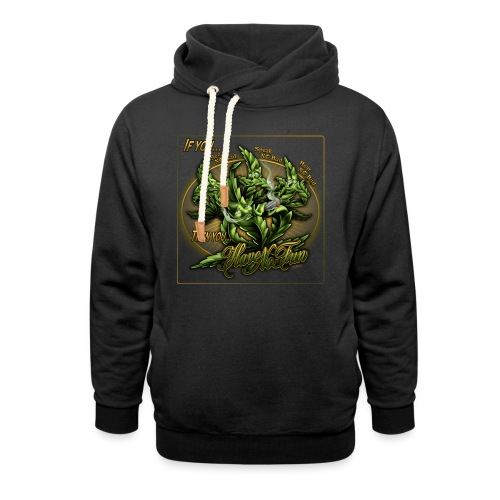 See No Bud by RollinLow - Shawl Collar Hoodie