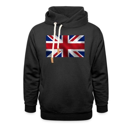 British Flag - Shawl Collar Hoodie