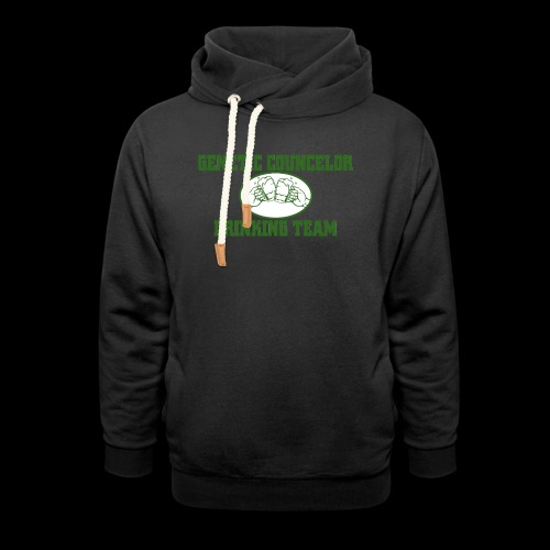 genetic counselor drinking team - Unisex Shawl Collar Hoodie